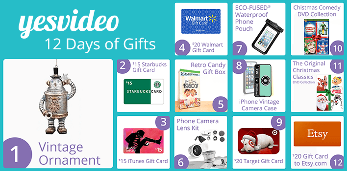 12 days of christmas giveaway itunes