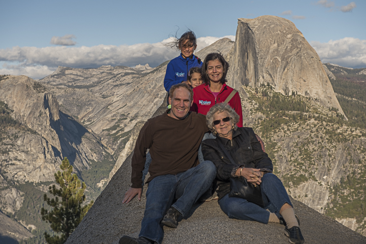 DeGrazio Family Glacier Point Yosemite National Park OCT2015
