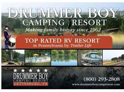Drummer Boy Camping Resort 1300 Hanover Rd Gettysburg, PA ...