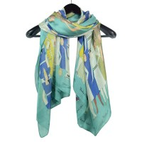 Beautiful silk scarves wholesale china Scarf