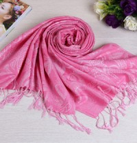 Polyester scarves with fringes china Scarf