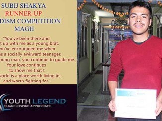 Subij-Shakya-Runner-Up