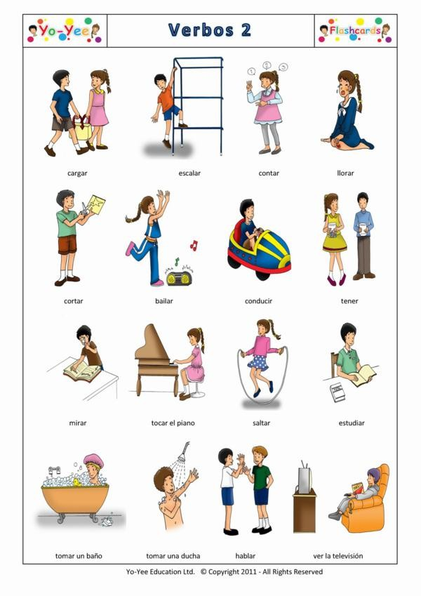 Verbos Spanish ideas Pinterest Spanish, Language and Learn - verb list