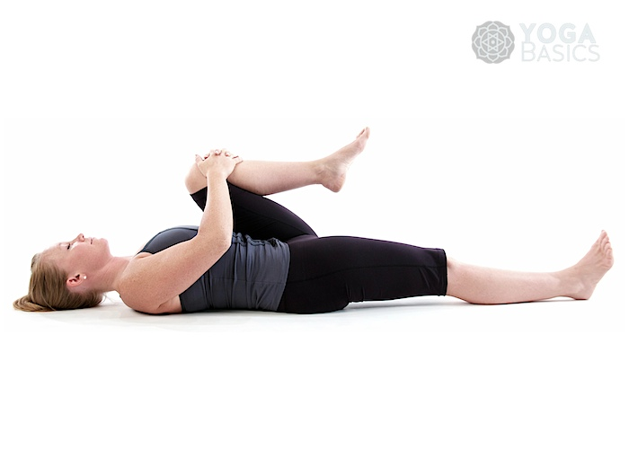 Half Wind Relieving Pose Ardha Pavana Muktasana O Yoga