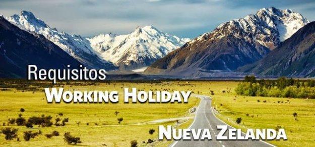 Requisitos Working Holiday Nueva Zelanda