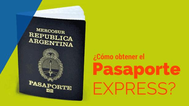 como sacar pasaporte express argentino