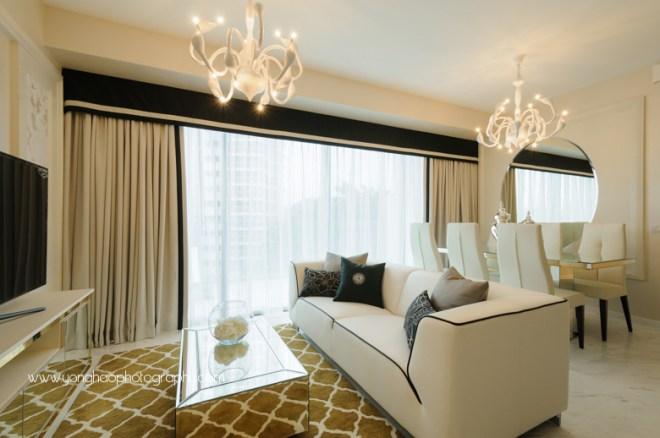 Interior photography of centro residences condo showflat for Hae yong interior designs