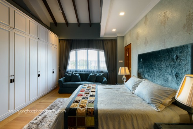 yonghao photography, interior, interior design, interior photogaphy, singapore, modern classic design, home, landed properties, ej square, junior suite
