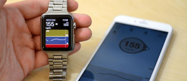 apple watch dexcom