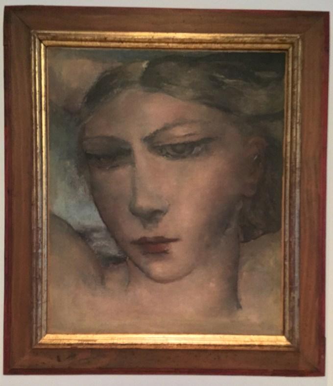 Paul Delvaux - Tete de Femme