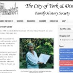 New Web Site for York & District Family History Society