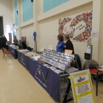 Manor Academy stall ready for business.