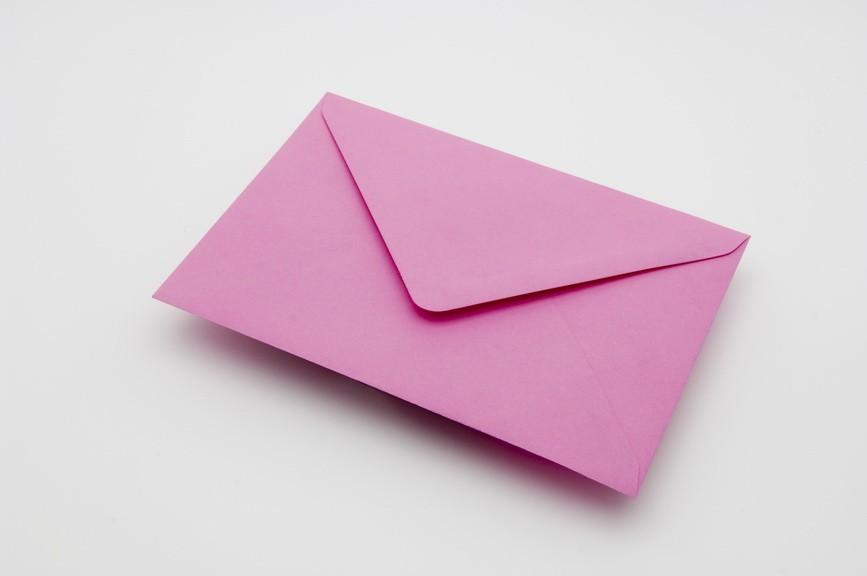 Candy Pink Envelope - Yorkshire Envelopes, Greetings Card Envelopes