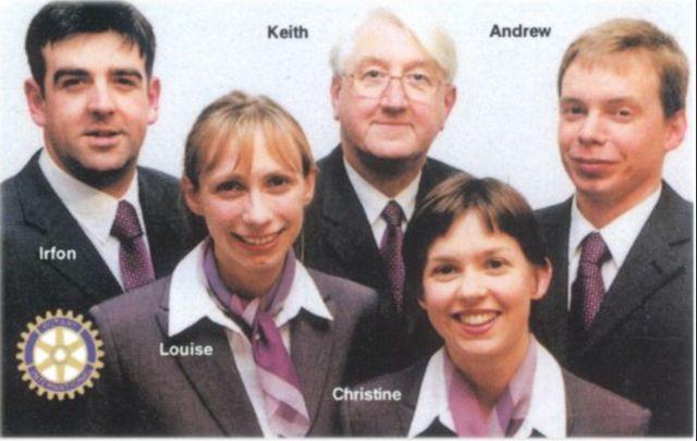 Rotary International Group Study Exchange Team 2001