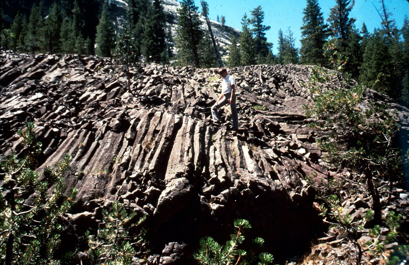 Lava Wallpaper Hd The Geologic Story Of Yosemite National Park 1987