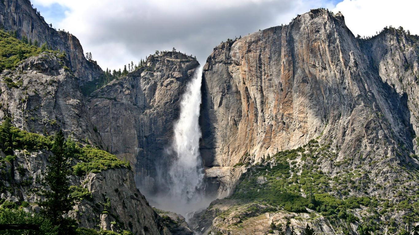 Niagara Falls Wallpaper 1920x1080 Free Yosemite Wallpaper Upper Yosemite Falls