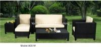 5-piece patio outdoor resin Wicker classic high back sofa ...