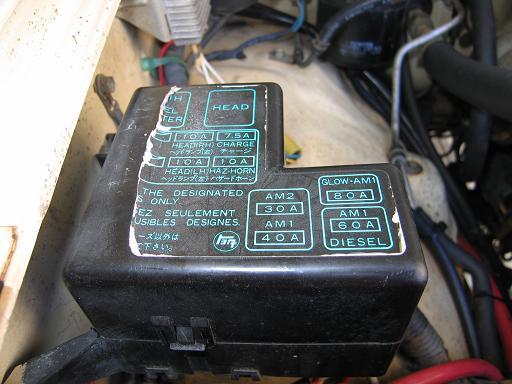 1986 Toyota Fuse Box - Carbonvotemuditblog \u2022