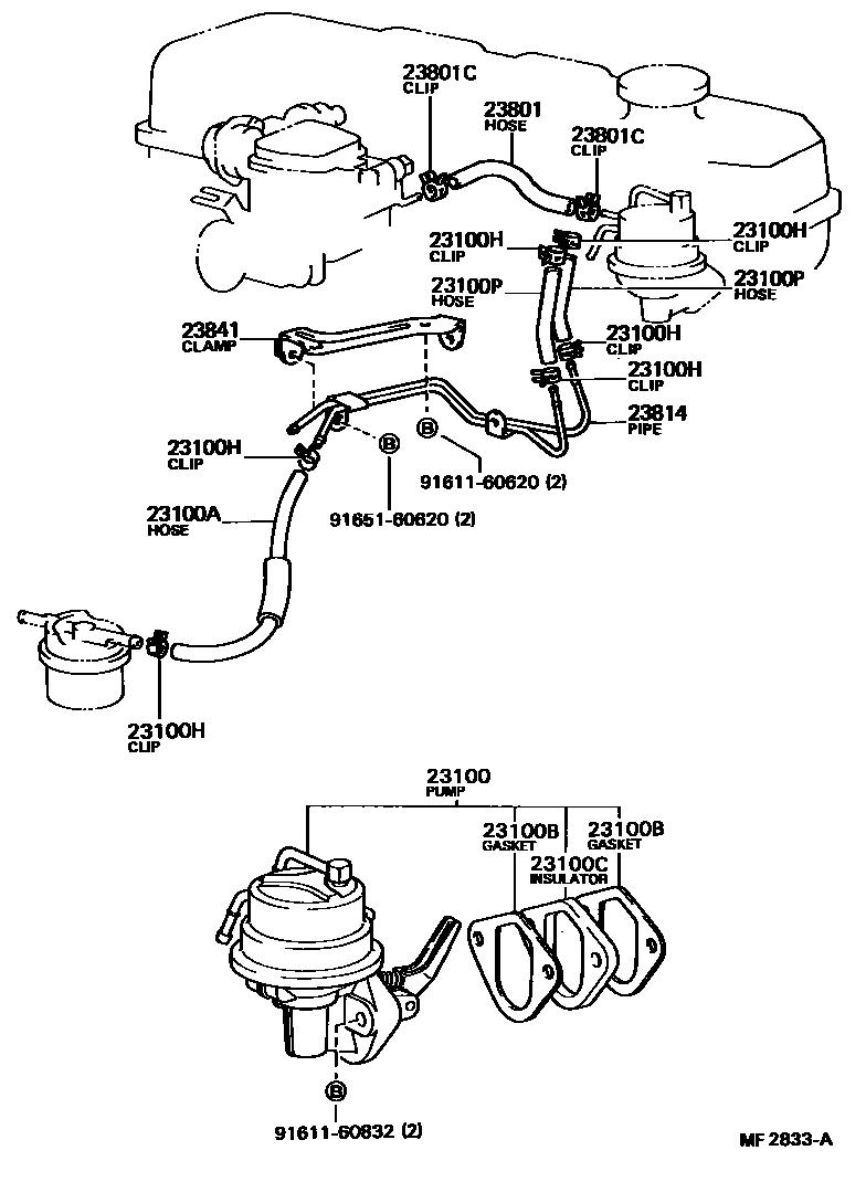 1984 toyota pickup fuse box diagram