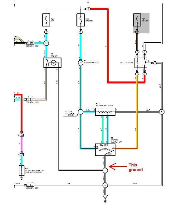 04 4runner wiring diagram