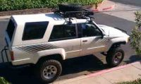 Pics of Yakima rack/Tire Carrier on my 1st gen - YotaTech ...