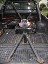 Truck Bed Spare Tire Carrier Ebay