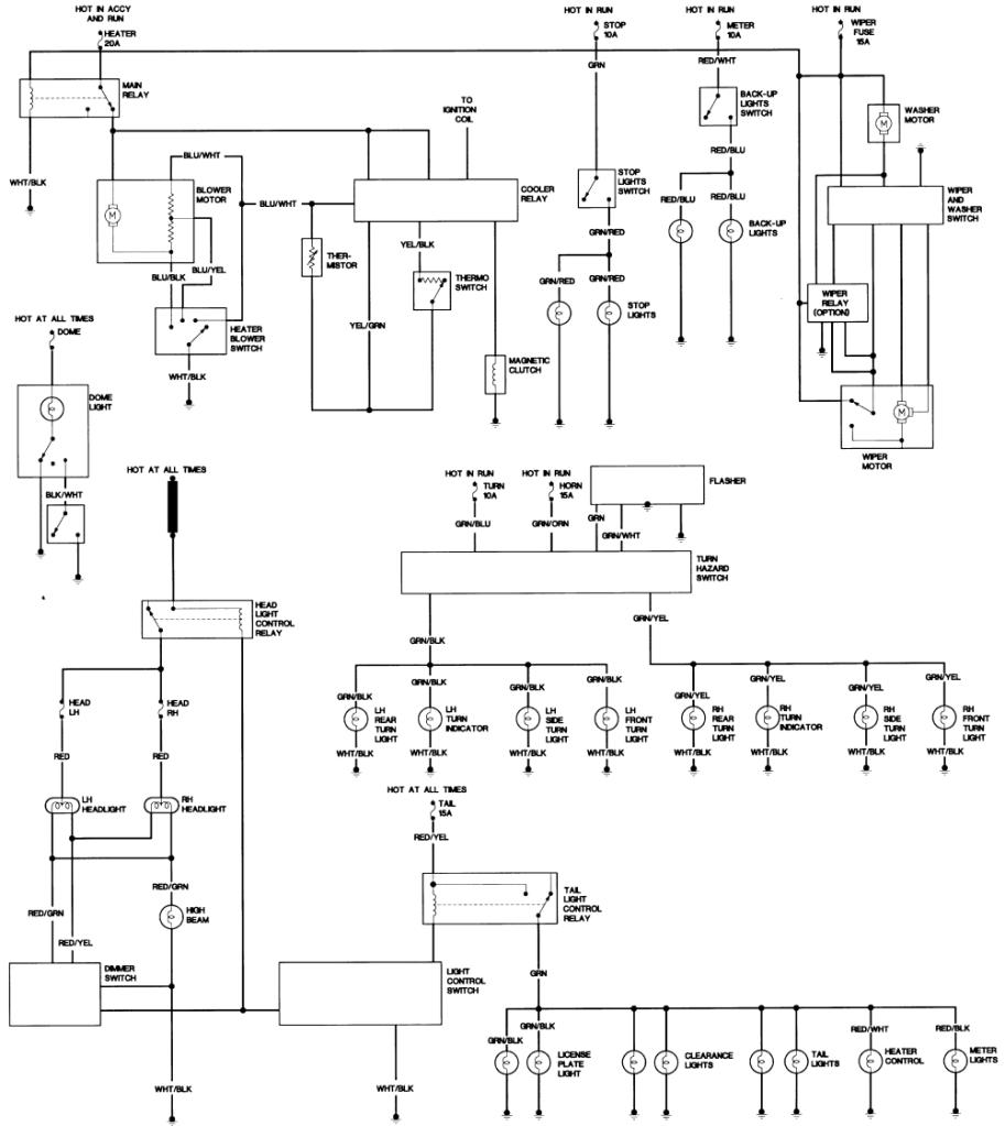 1980 toyota pickup wiring diagram