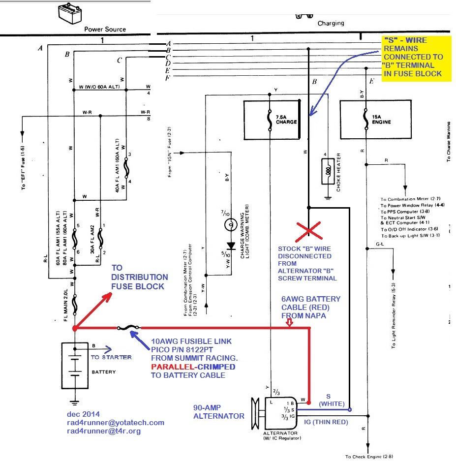 High Amp Alternator Wiring Diagram Auto Electrical Napa
