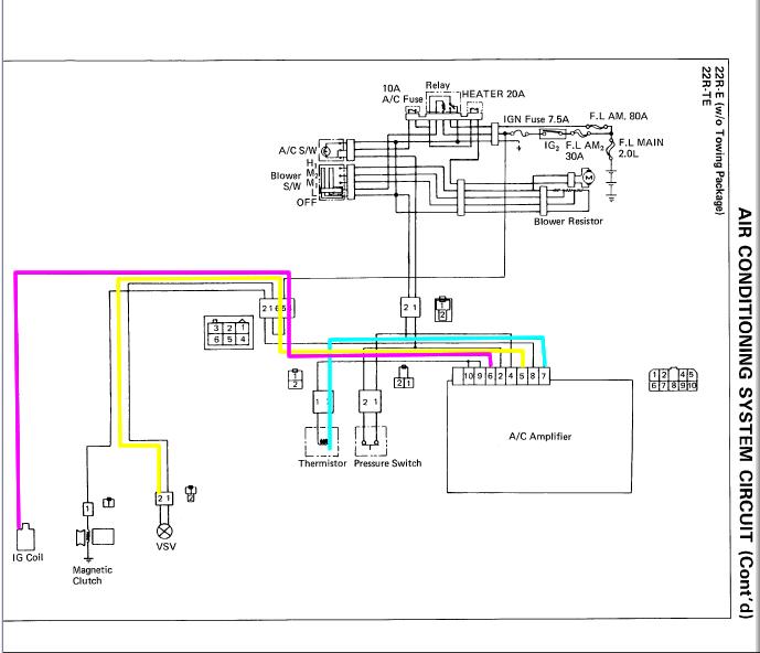 1994 toyota land cruiser wiring diagram