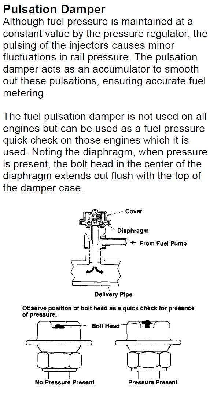 Pulsation Damper? - YotaTech Forums