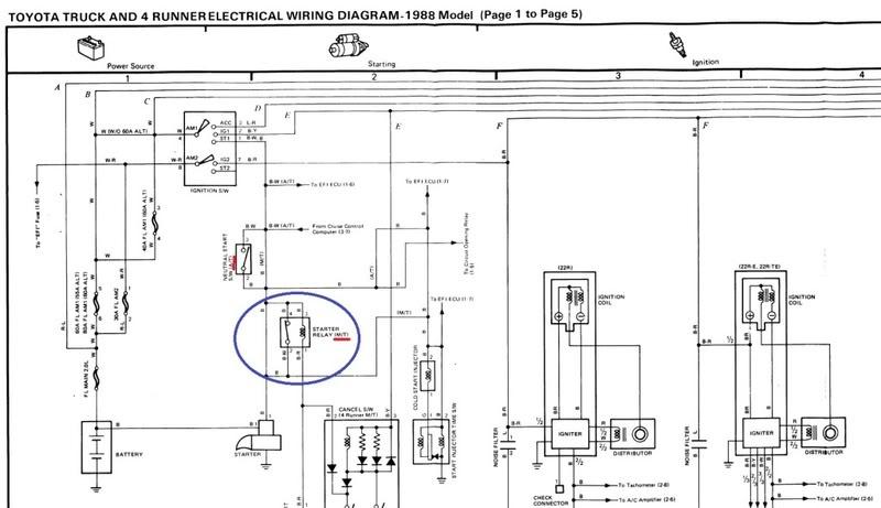 Toyota 3vze Starter Relay Wiring Diagram Index listing of wiring
