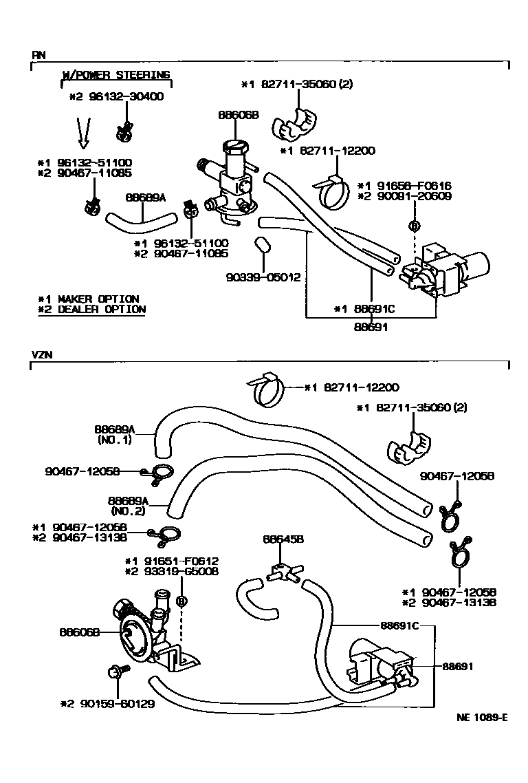 lexus fuel system diagram