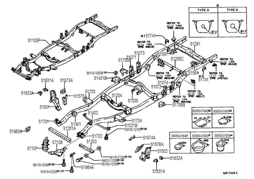 1993 chevy silverado frame diagram