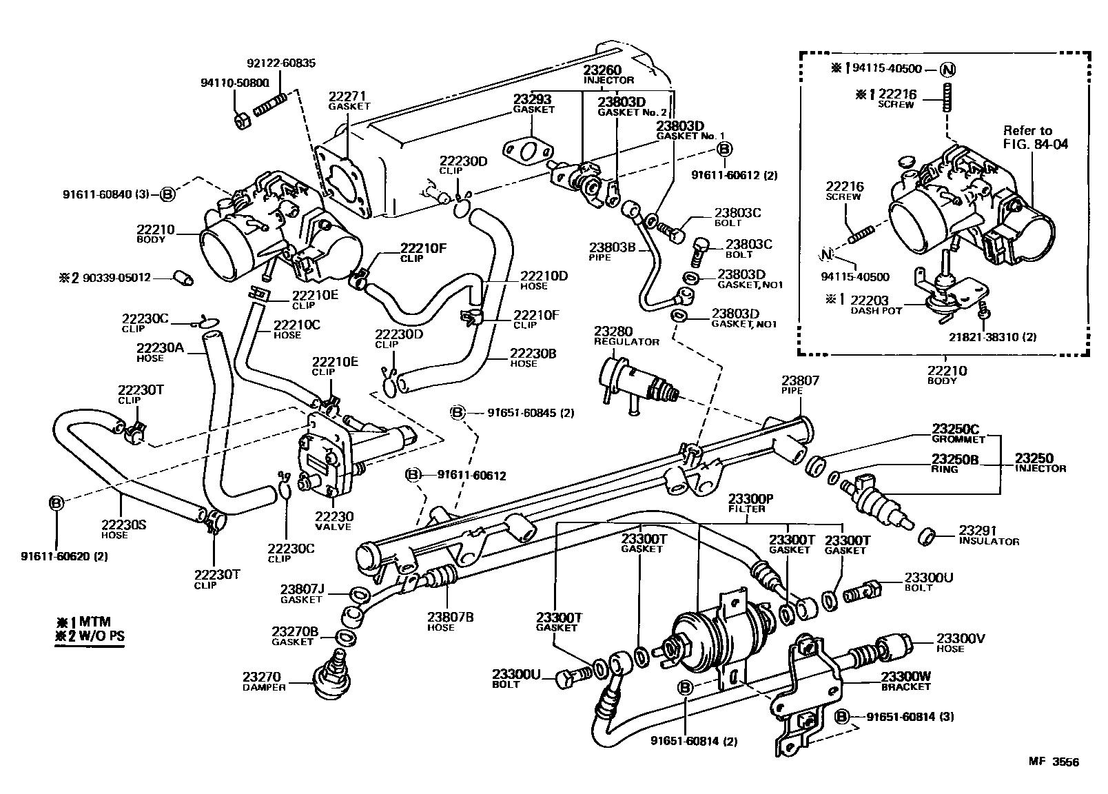 toyota corolla wiring diagram also 1989 toyota pickup 22re vacuum