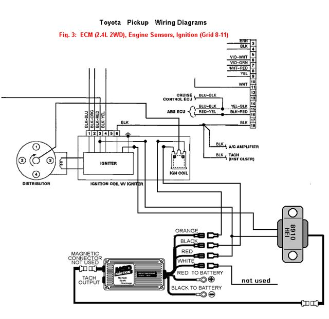 msd pick up coil wiring diagram