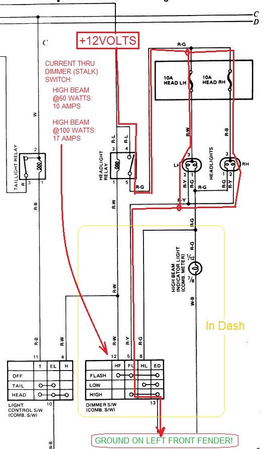 1990 Headlight Wiring Diagram Wiring Diagram 2019