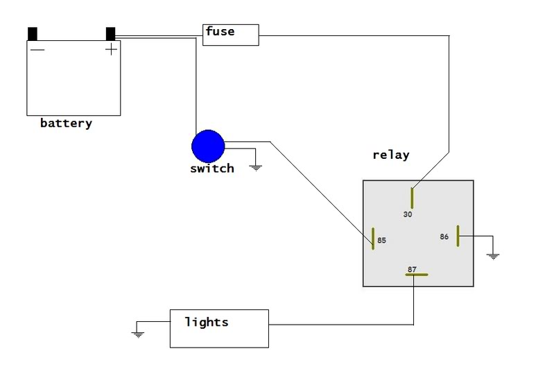 Wiring tractor lights - YotaTech Forums