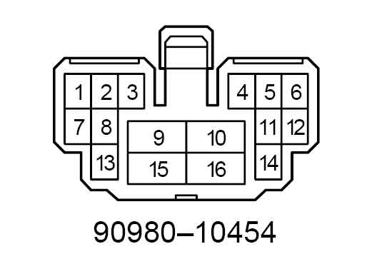 88 toyota pickup engine harness diagram