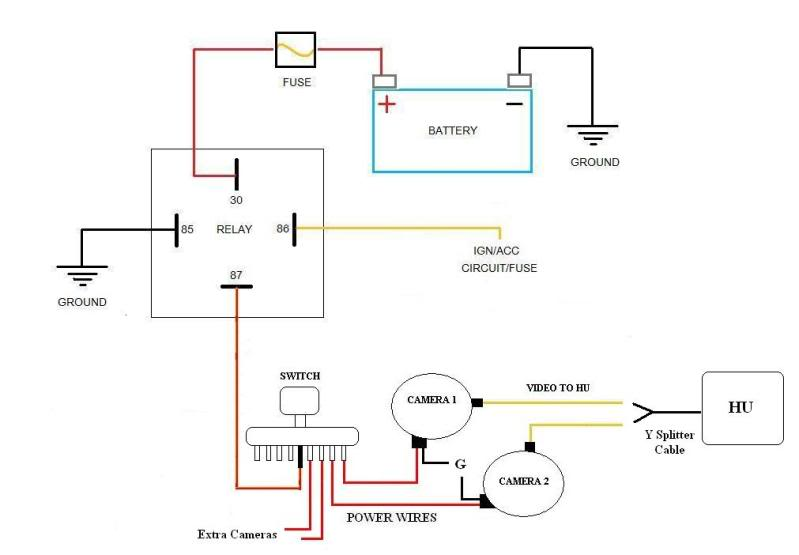 Radio Wiring Diagram On Power Window Wiring Diagram On Toyota