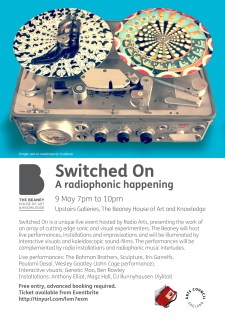 Switched on A5 flyer