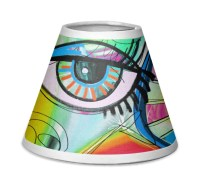 Abstract Eye Painting Chandelier Lamp Shade - YouCustomizeIt