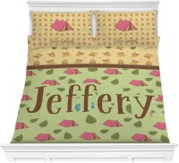 Summer Camping Comforter Set - Full / Queen (Personalized ...
