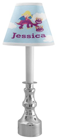 Girl Flying on a Dragon Chandelier Lamp Shade ...