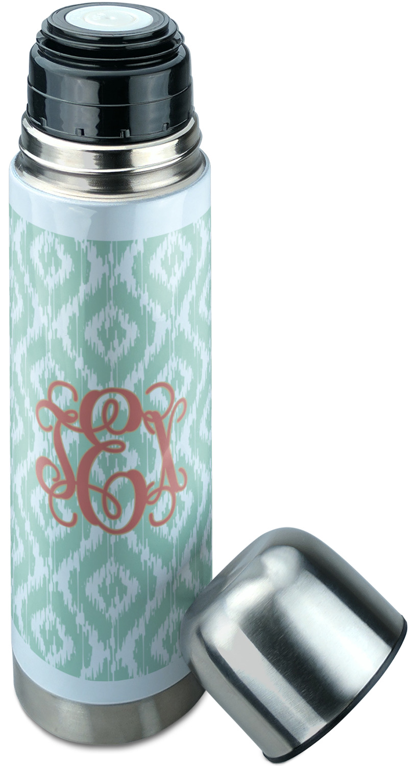 Monogram Stainless Steel Thermos Personalized You