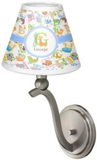 Animal Alphabet Chandelier Lamp Shade (Personalized ...