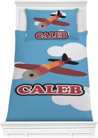 Airplane Comforter Set - Twin XL (Personalized ...