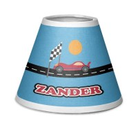 Race Car Chandelier Lamp Shade (Personalized)