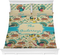 Old Fashioned Thanksgiving Comforter Set (Personalized ...