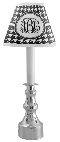 Houndstooth Chandelier Lamp Shade (Personalized ...