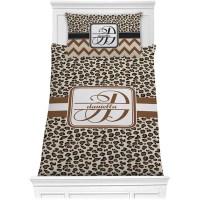 Leopard Print Comforter Set - Twin (Personalized ...